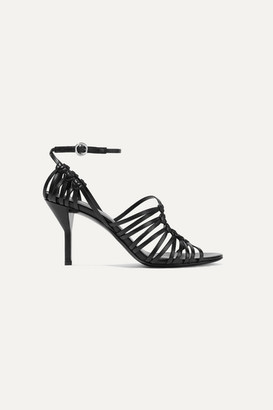 3.1 Phillip Lim Lily Knotted Leather Sandals - Black