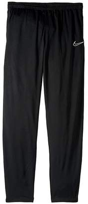 Nike Kids Dry Academy Pants (Little Kids/Big Kids) (Black/White/White/White) Girl's Casual Pants
