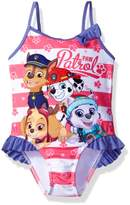 Nickelodeon Toddler Girls' Paw Patrol Swimsuit
