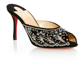 Christian Louboutin M'O Exclusive: Embroidered Mule