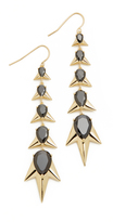 Noir Crystalized Earrings