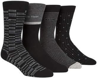 Calvin Klein Men 4-Pk. Dress Socks
