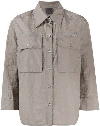 Lorena Antoniazzi Three-Quarter Sleeves Buttoned Shirt