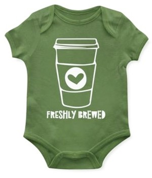 Emerson and Friends Baby Unisex Freshly Brewed Bodysuit
