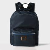 Paul Smith Men's Navy Nylon Backpack