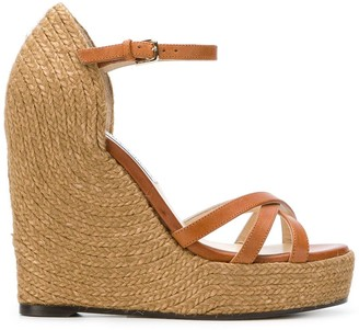 Jimmy Choo Delaney platform wedges