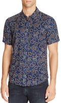 NATIVE YOUTH Sundance Floral Short Sleeve Regular Fit Button-Down Shirt