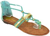 Cape Robbin Women's Samantha-4 Flat Sandals