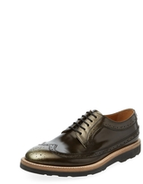 Paul Smith Men's Grand Metallic Derby Shoe