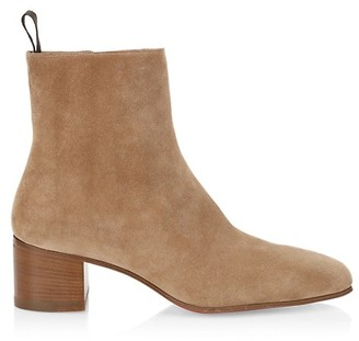 Christian Louboutin Zagober Suede Ankle Boots