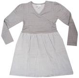 Coccoli Long Sleeve Cotton Dress