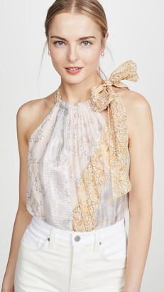 Rebecca Taylor Sleeveless Daffodil Tank
