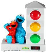Sesame Street Stoplight Sleep Enhancing Alarm Clock for Kids - Elmo and Cookie