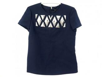 Louis Vuitton \N Navy Wool Tops