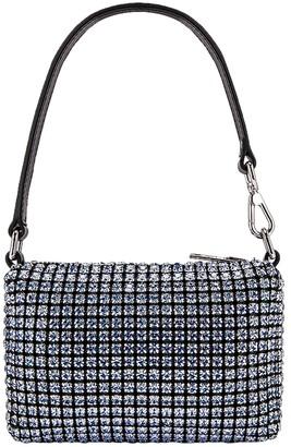 Alexander Wang Embellished Light Blue Mini Pouch Bag