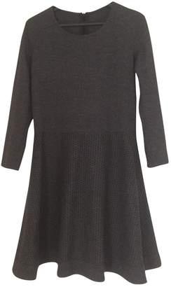 Georges Rech Grey Wool Dress for Women