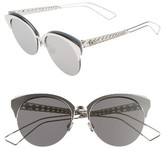 Christian Dior Women's Clubs 55Mm Sunglasses - Grey/ Pearl