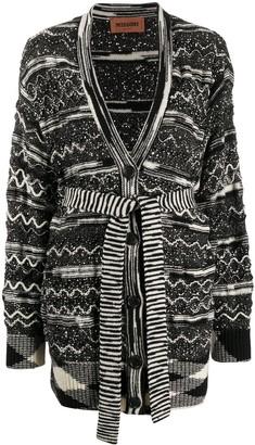 Missoni Pattern Knit Cardigan