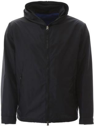 Etro Back Logo Hooded Jacket