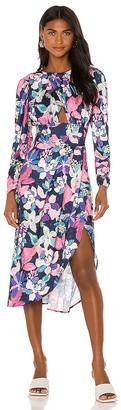 For Love & Lemons Victoria Midi Dress