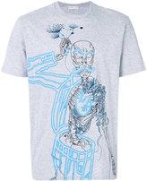 Etro skeleton print T-shirt - men - Cotton - M
