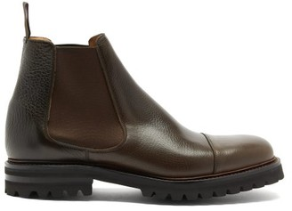 Church's Ellingham Grained-leather Chelsea Boots - Dark Brown