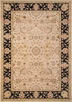 Momeni Rugs ZIEGLZE-01BLK3B57 Ziegler Collection, Traditional Area Rug