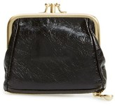 Hobo Women's 'Minnie' Coin Purse - Black