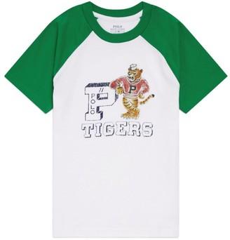 Ralph Lauren Kids Tiger Print T-Shirt (2-4 Years)