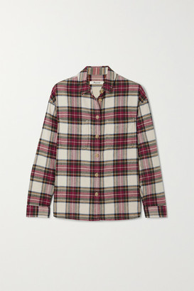 Madewell Tartan Cotton-flannel Shirt - Red