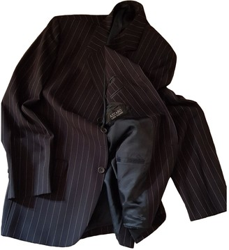 Azzaro Loris Black Wool Jackets