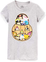 Jerry Leigh Gray Heather Disney Tsum Tsum Pumpkin Tee - Toddler & Girls