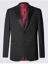 M&S Collection Black Regular Fit Jacket