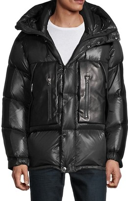 Maurice Benisti Down-Filled Hooded Puffer Jacket