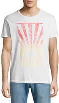 Sol Angeles Après Sol Sunburst T-Shirt, White