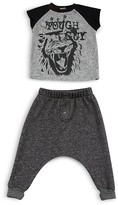 Amy Coe Infant Boys' Tough Guy Tee & Sweatpants Set - Sizes 12-24 Months