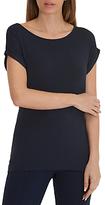 Betty Barclay Oversized Cap Sleeve T-Shirt, Dark Sky