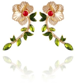 Nanette Lepore Winter Garden Drop Earrings