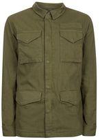 Topman Khaki Lightweight M65 Jacket