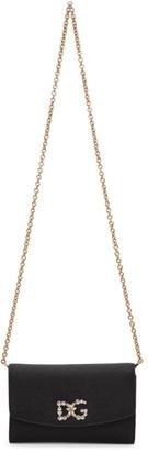 Dolce & Gabbana Black Jewell Shoulder Bag