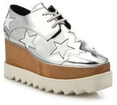 Stella McCartney Elyse Metallic Star Platform Oxfords