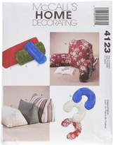 Mccall's M4123 Comfort Zone Pillows and Bolsters, All Sizes