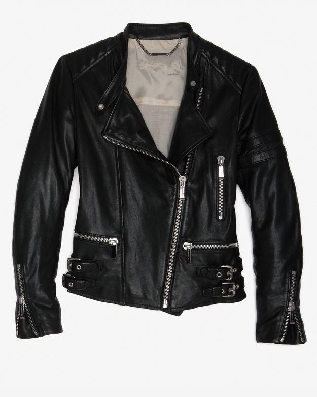 Barbara Bui Leather Biker Jacket