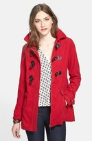 Dollhouse Hooded Buckle Front Coat (Juniors) (Online Only)