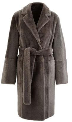 Yves Salomon Reversible lambswool coat