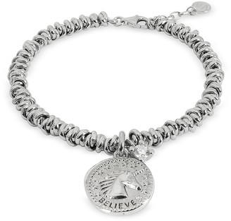 Nomination Sterling Silver Believe Charm Bracelet