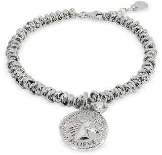 Nomination Sterling Silver Believe Charm Bracelet