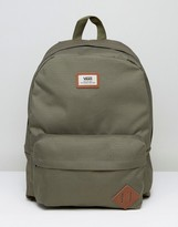 Vans Old Skool Backpack In Khaki