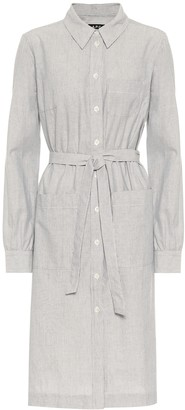 A.P.C. Emmanuelle cotton shirt dress