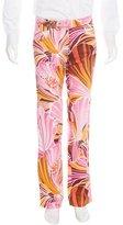 Dolce & Gabbana Floral Print Pants w/ Tags